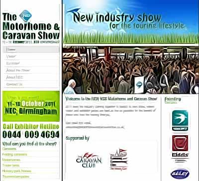 NCC Caravan and Motorhome Show