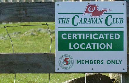 Certificated Location Sign