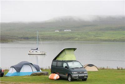 Skye Edinbane camp site