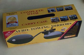 Caravan Insurance - towing mirrors