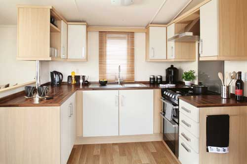 Swift Moselle Kitchen Static Caravan